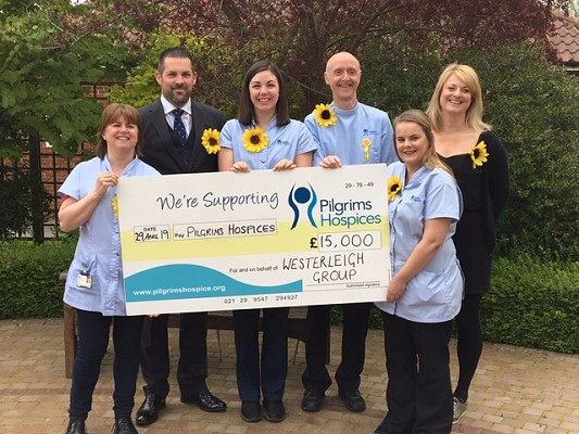 Pilgrims Hospice Sunflower Appeal
